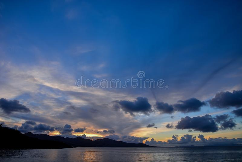 Paisagem na Espanha vulcânica tropical das Ilhas Canárias imagens de stock