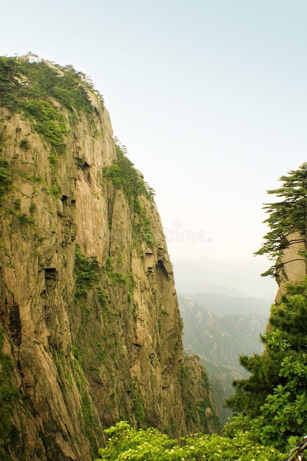 Paisagem natural incrível em uma montanha chinesa fotos de stock