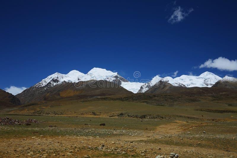 Paisagem, natureza, China, Tibet fotos de stock royalty free