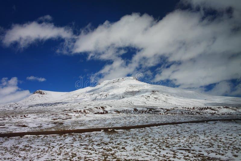 Paisagem, natureza, China, Tibet imagem de stock royalty free