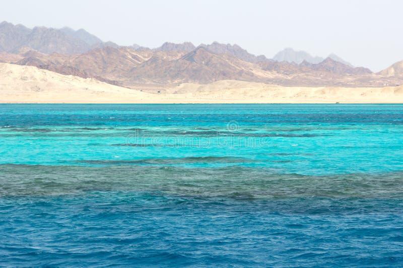 Ras Mohammed no Mar Vermelho, Egipto imagens de stock