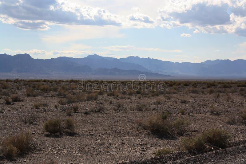 Paisagem no parque nacional de Vale da Morte, Nevada imagem de stock