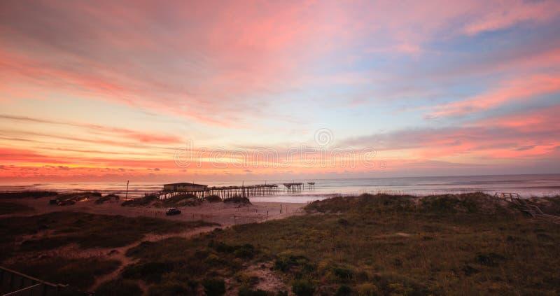 Paisagem North Carolina litoral foto de stock