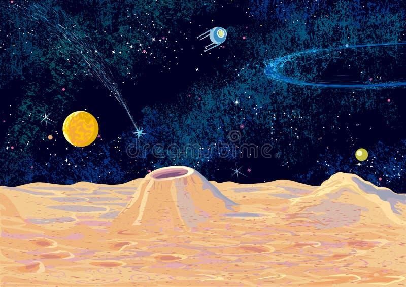 Paisagem osmic do ¡ de Ð ilustração stock