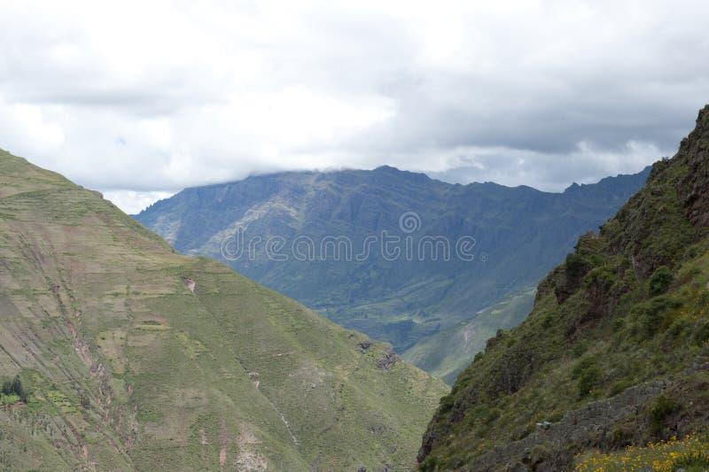 Paisagem peruana imagens de stock royalty free