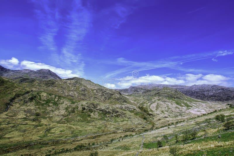 paisagem Reino Unido do snowdonia fotografia de stock