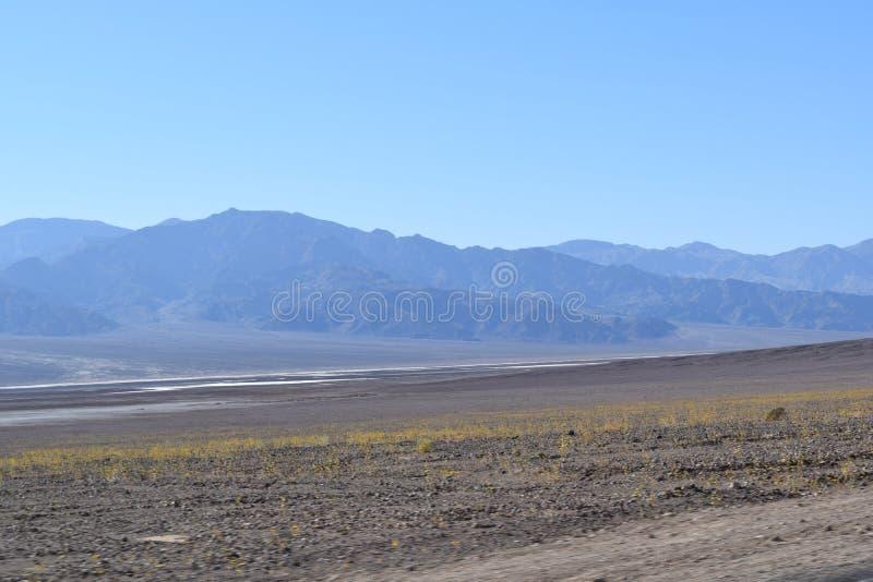 Paisagem rochosa no Vale da Morte Califórnia fotos de stock