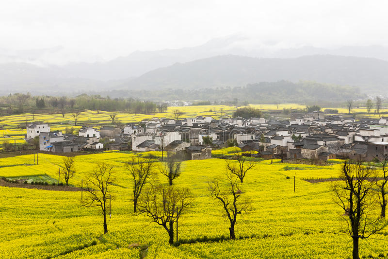 Paisagem rural bonita em China imagem de stock royalty free