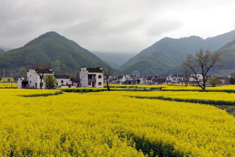Paisagem rural bonita em China imagens de stock