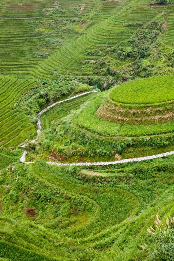 Paisagem rural de China fotos de stock royalty free