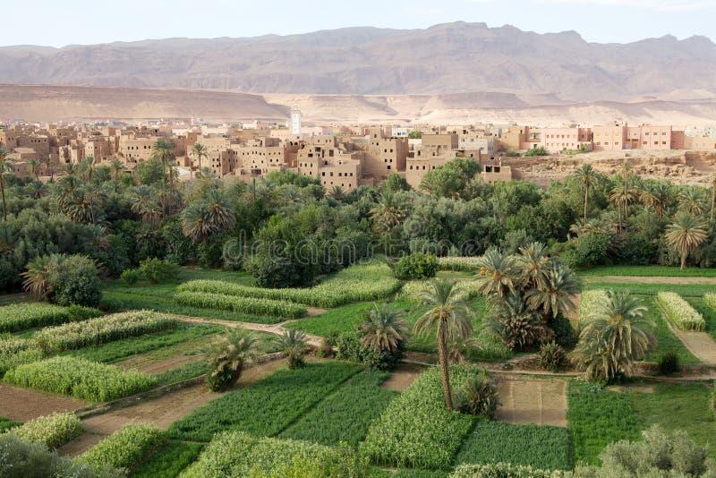 Paisagem rural de Marrocos imagens de stock