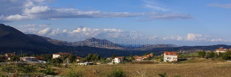 Paisagem Sicília imagens de stock