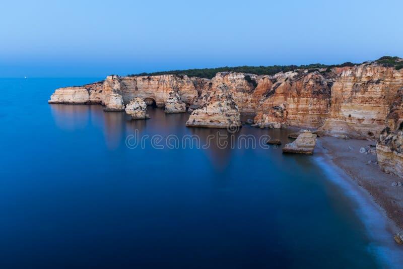 Paisagem típica do Algarve imagens de stock