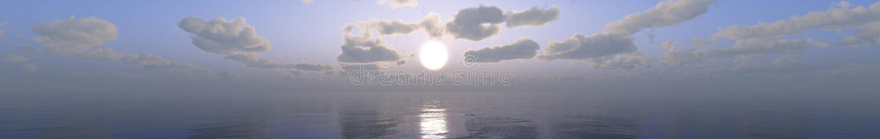 Paisagem tropical, praia com as palmeiras no por do sol fotografia de stock royalty free