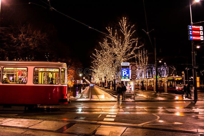 Paisagem urbana de Wien foto de stock royalty free