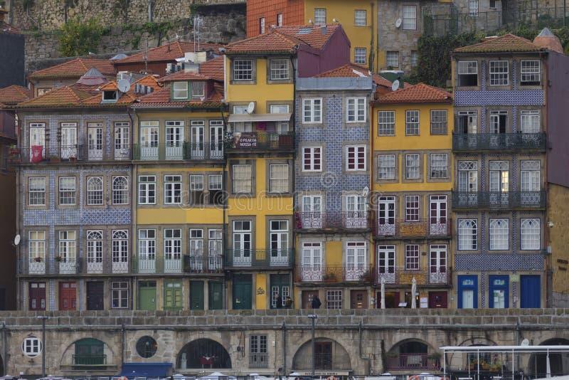 Paisagem urbana do Porto, Portugal imagem de stock