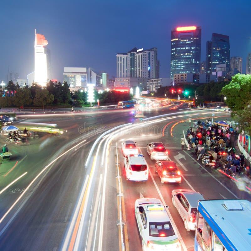 Paisagem urbana: Nanchang, China imagens de stock