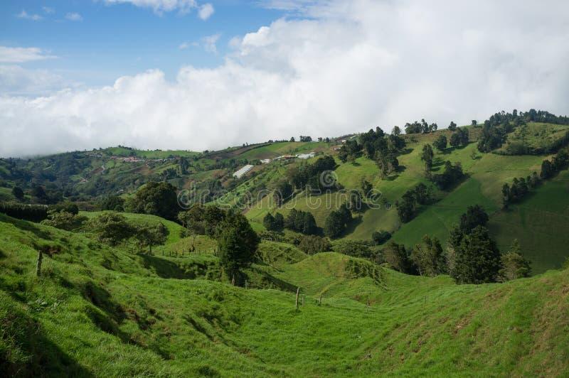 Costa Rica verde foto de stock