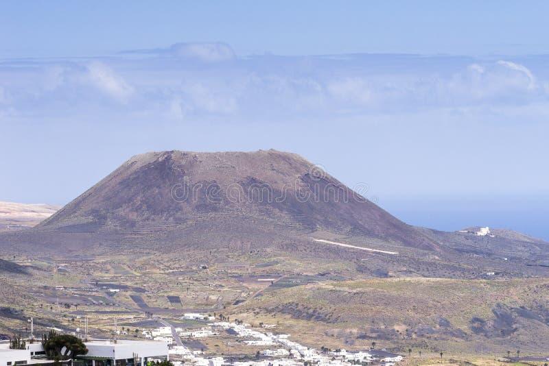 Paisagens de Lanzarote foto de stock