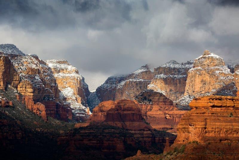 Paisagens de Sedona o Arizona fotografia de stock