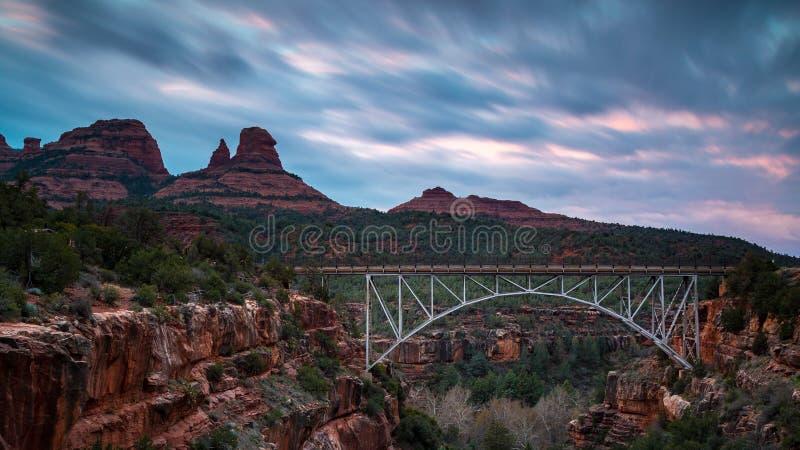 Paisagens de Sedona o Arizona imagem de stock royalty free