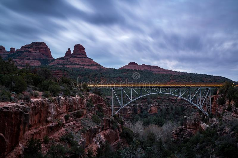 Paisagens de Sedona o Arizona fotos de stock royalty free