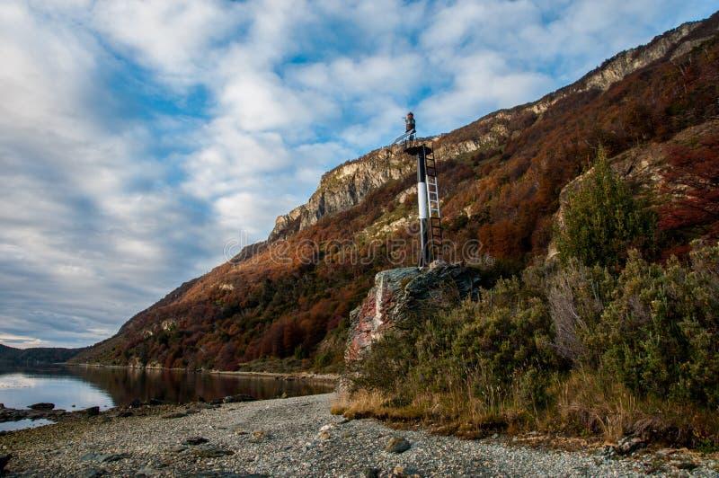 Paisagens de Tierra del Fuego, Argentina sul fotos de stock royalty free