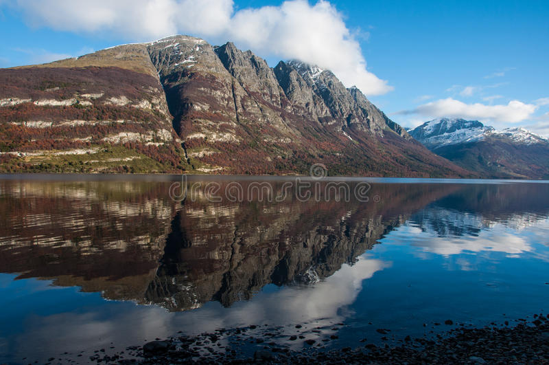 Paisagens de Tierra del Fuego, Argentina sul imagem de stock royalty free