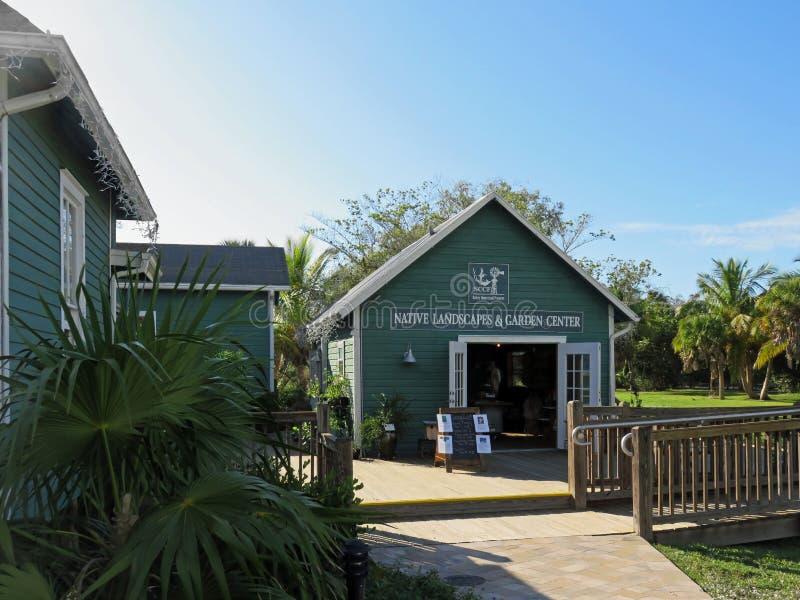 Paisagens e Garden Center nativos em Bailey Homestead Preserve fotografia de stock royalty free