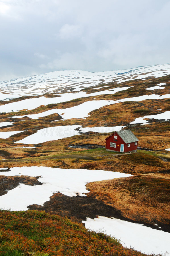 Paisaje ártico fotos de archivo