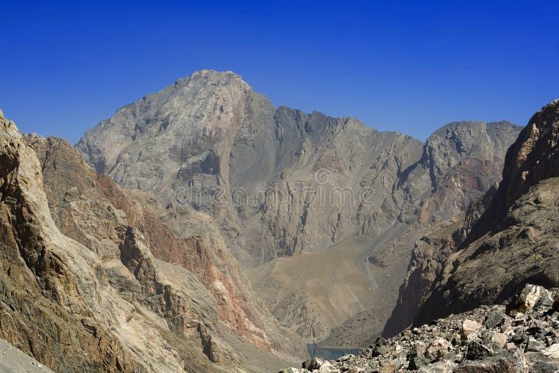 Paisaje 01 de la montaña imagen de archivo