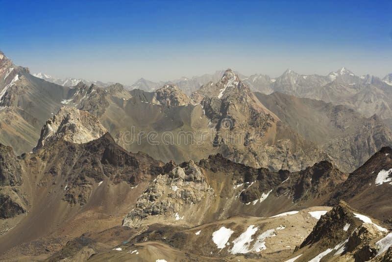 Paisaje 04 de la montaña fotografía de archivo libre de regalías