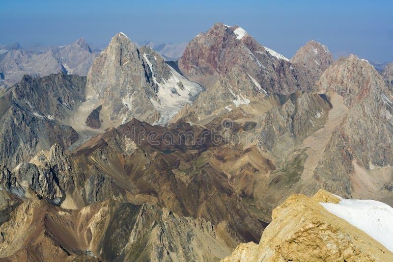 Paisaje 06 de la montaña imagen de archivo libre de regalías