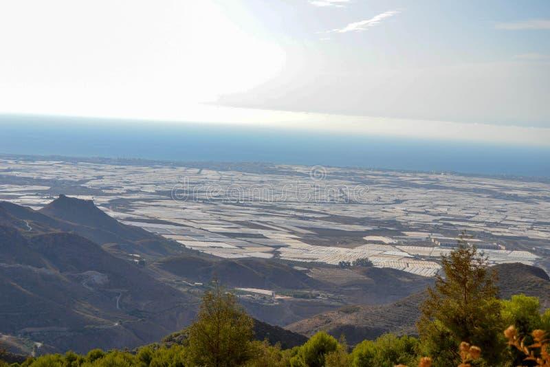 Paisaje Almería imagen de archivo