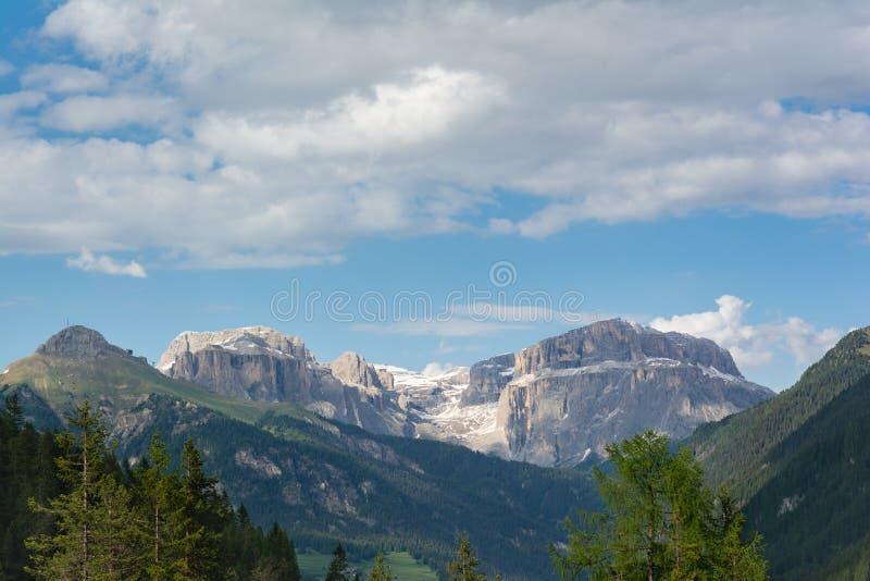 Paisaje alpino hermoso de la monta?a Dolom?as, Italia imágenes de archivo libres de regalías