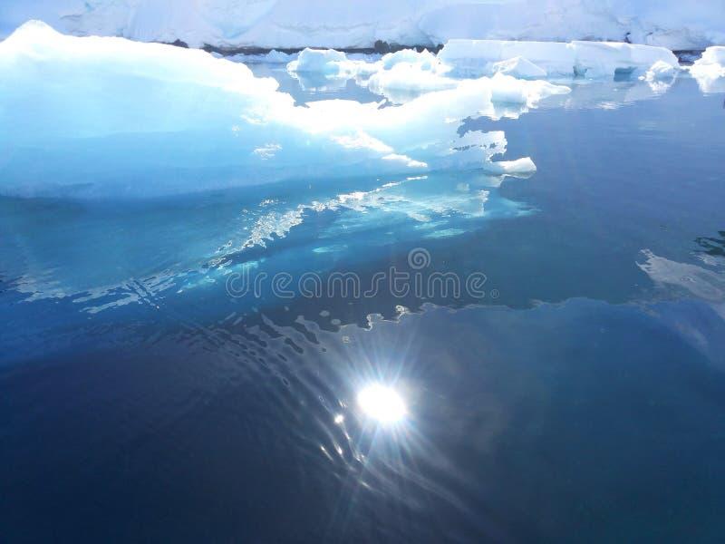 Paisaje antártico imagen de archivo libre de regalías