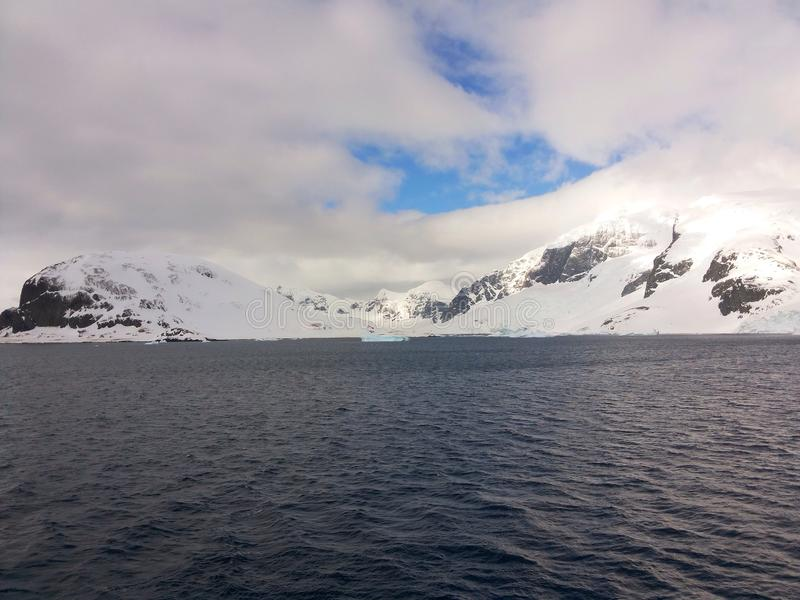 Paisaje antártico imágenes de archivo libres de regalías