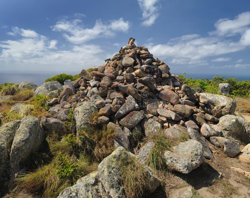 Paisaje australiano Isla del lagarto Gran filón de barrera, Queensland, Australia imagen de archivo libre de regalías