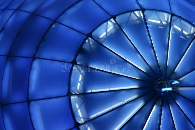 Paisaje azul de la estructura foto de archivo libre de regalías