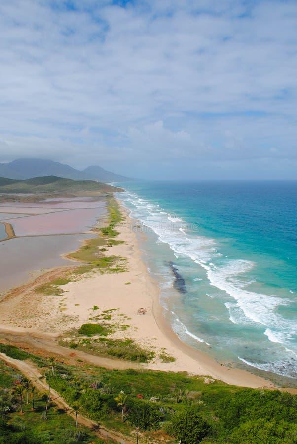 Paisaje azul en Venezuela foto de archivo libre de regalías