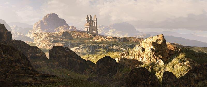 Paisaje céltico de las montañas imagen de archivo libre de regalías