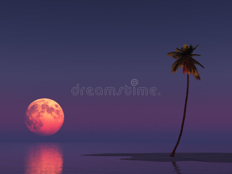 Paisaje crepuscular imagen de archivo libre de regalías