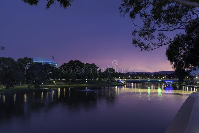 Paisaje de Adelaide imagen de archivo