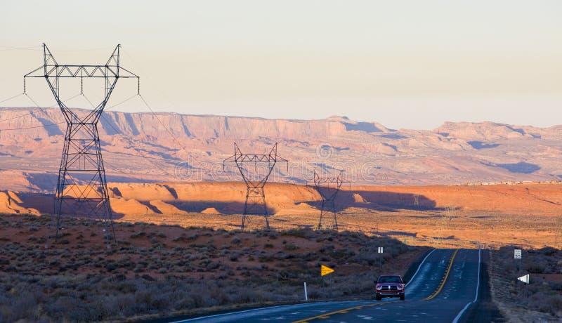 paisaje de Arizona, los E.E.U.U. foto de archivo