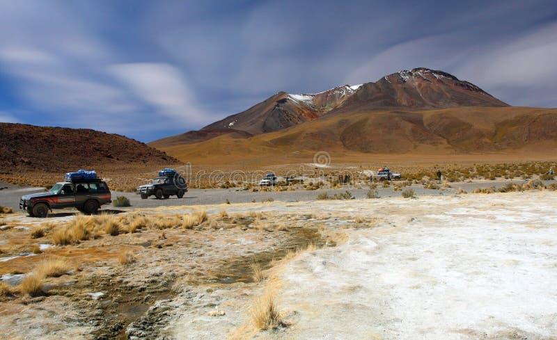 Paisaje de Bolivia fotos de archivo