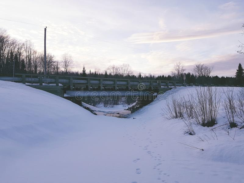 Paisaje de Canadá imagen de archivo