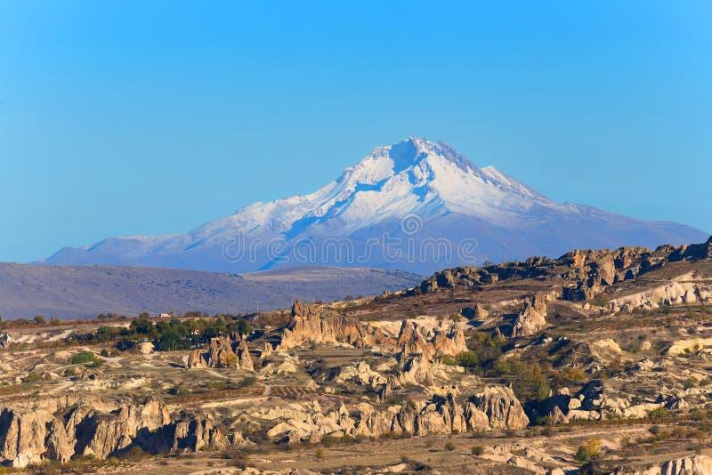 Paisaje de Cappadocia imagenes de archivo