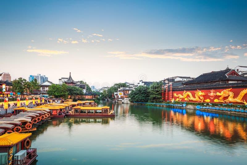 Paisaje de China Nanjing imagen de archivo libre de regalías