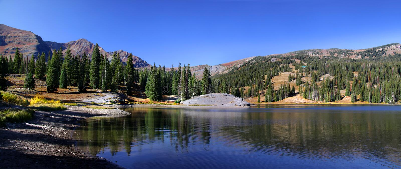 Paisaje de Colorado foto de archivo