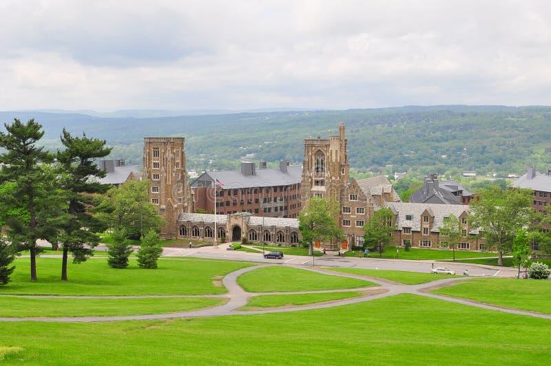 Paisaje de Cornell Campus foto de archivo libre de regalías